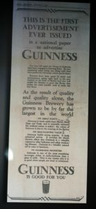 Guinness Storehouse visita